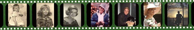 filmstrip of favorite family photos as a slideshow