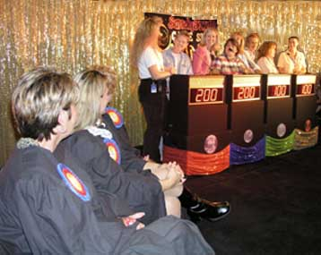 Game Show contestants and judges