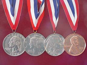 Game Show medals